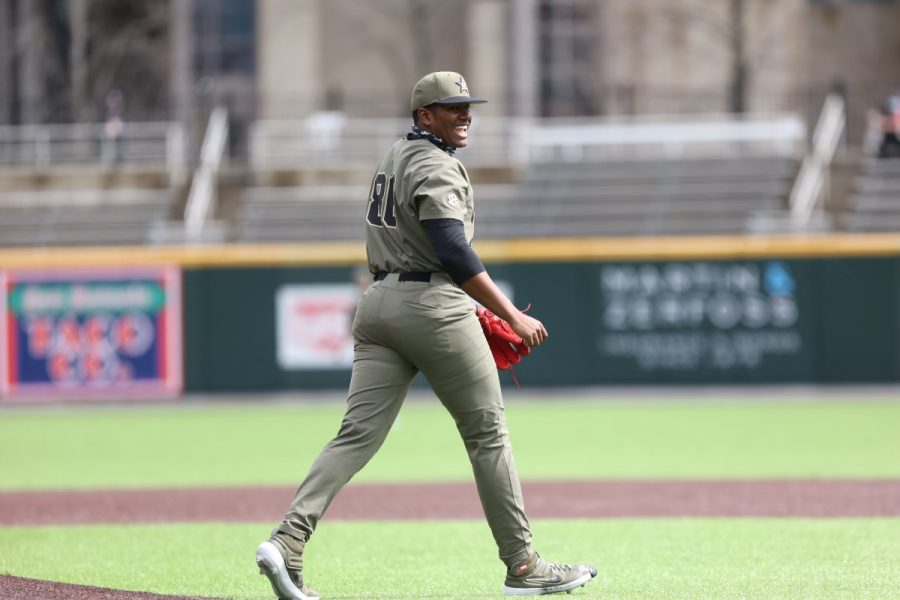 Kumar Rocker went five strong innings this weekend against Georgia State, allowing no runs and just three hits. (Hustler Multimedia/Hunter Long).