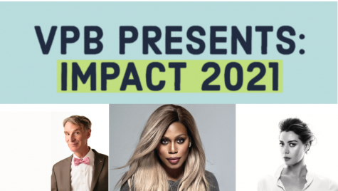 VPB takes a virtual approach to the annual IMPACT Symposium series in 2021. Screenshots via VPB (Hustler Staff/Eva Pace)