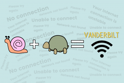 Vanderbilt's snail-like Wi-Fi inhibits students from performing at their best. (Hustler Communications/Zoe Yarbrough)