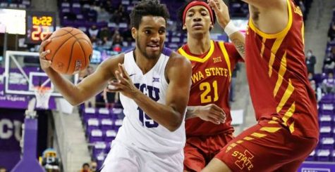 Terren Frank appeared in 14 games for the TCU Horned Frogs this past year. (TCU Athletics).