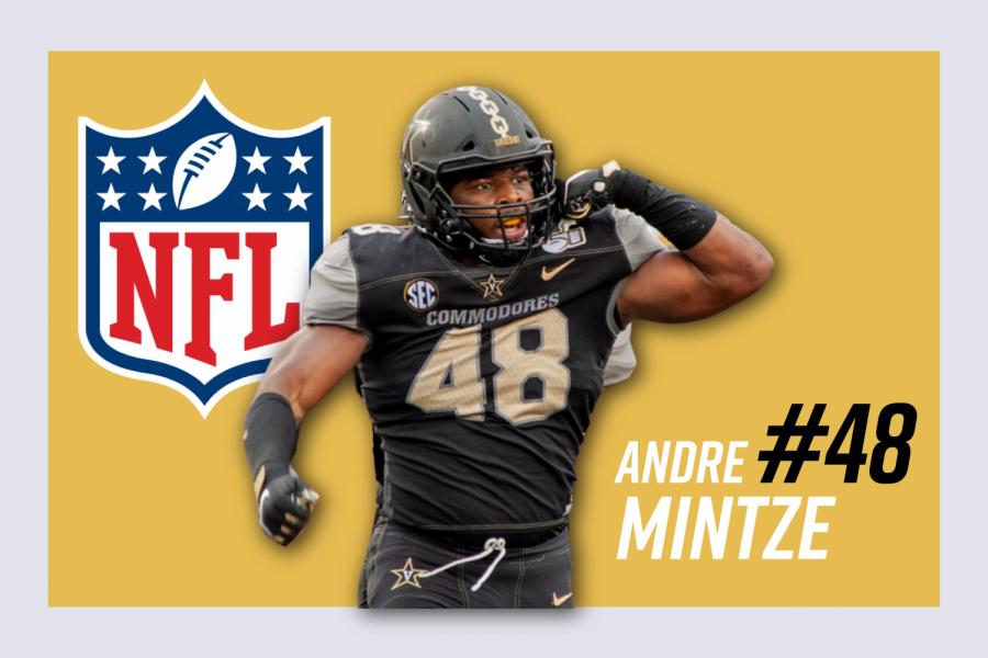 Andre Mintze declares for the 2021 NFL Draft. (Hustler Communications/Emery Little)