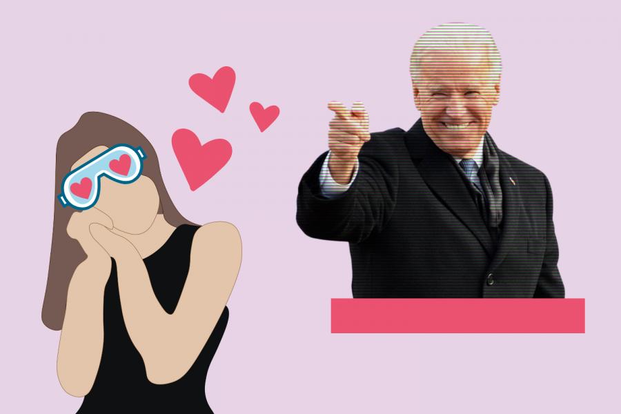 Are we wearing Biden beer goggles? (Hustler Communications/Emery Little)
