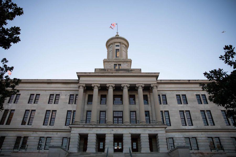 Image of Tennessee State Capitol taken September 1, 2019. (Hustler Multimedia/Emily Gonçalves)