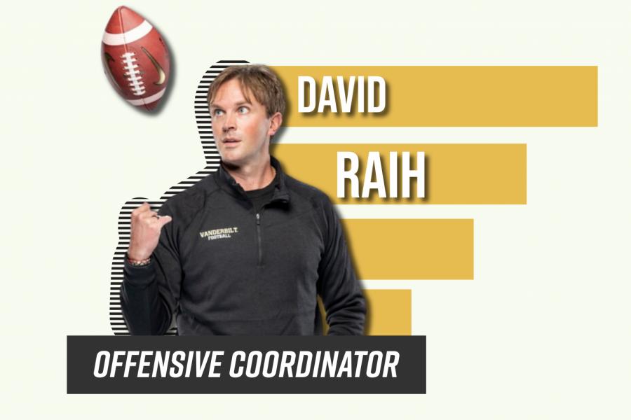 David Raih comes to Vanderbilt as first-year head coach Clark Leas offensive coordinator. (Hustler Communications/Emery Little)