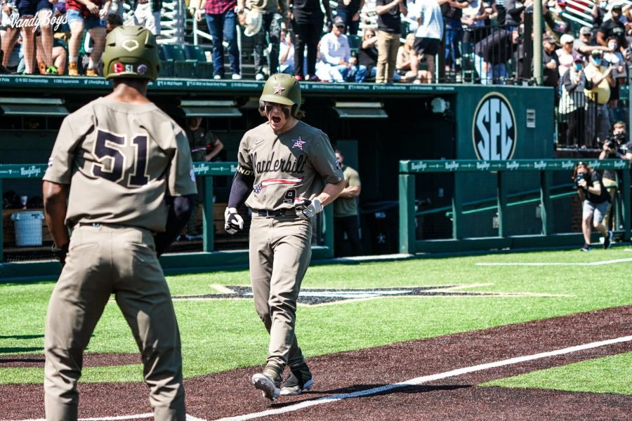 Vanderbilt baseball caps off a three-game series against Miss. St. with a 7-4. (Twitter/@VandyBoys)