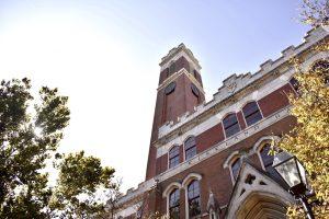 Photo of Kirkland Hall. (Hustler Multimedia/Anjali Chanda)