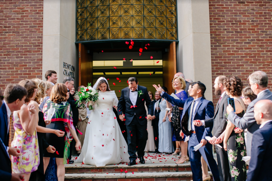 Vanderbilt serves as a unique space as a wedding venue for alumni and Nashville visitors alike. Photo courtesy Weddings at VU