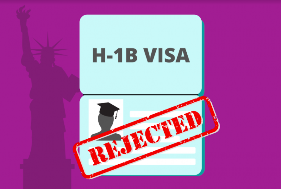 The H-1B is a work visa that foreigners must obtain in order to legally work in the U.S. (Hustler Communications/Emery Little)