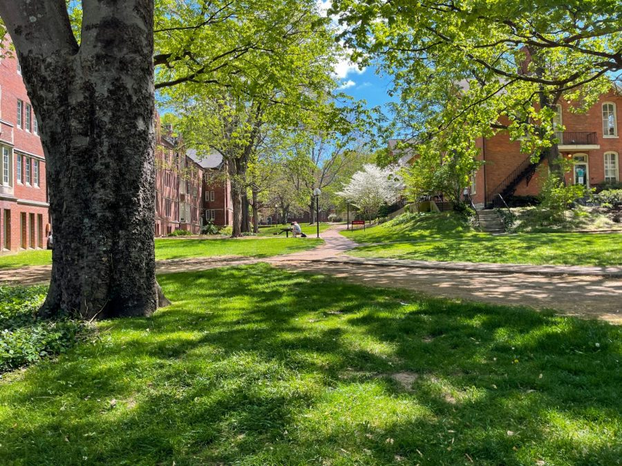 Vanderbilt pictured in spring time on Sunday, April 04, 2021. (Hustler Multimedia/Josh Rehders)