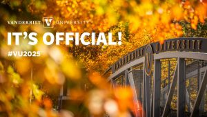 The university saw a 28.5 percent increase in the number of applications, ultimately admitting 3,162 students to the Class of 2025 from a pool of 47,174 applicants.(Photo courtesy Vanderbilt University)