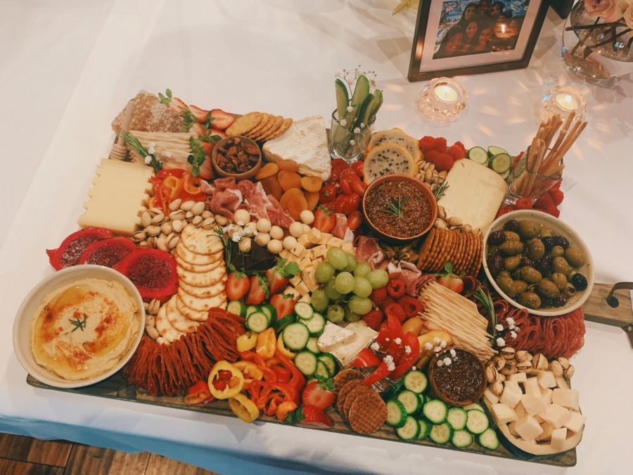 One of Kalini Patel's carefully crafter charcuterie boards (Kalini Patel)