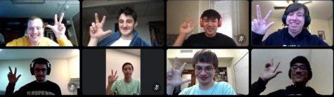 Members of the Vandy Quiz Bowl team (Michael Ponce)