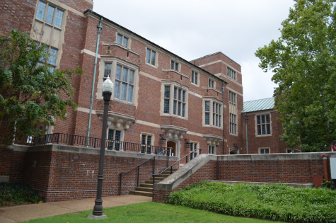 Alumni Hall. Picture taken on Aug. 20, 2020. (Hustler Multimedia/Alex Venero)