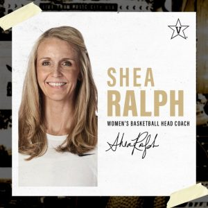 Shea Ralph is hired as Vanderbilt head women's basketball coach on April 13, 2021. (Twitter/@VandyWBB)