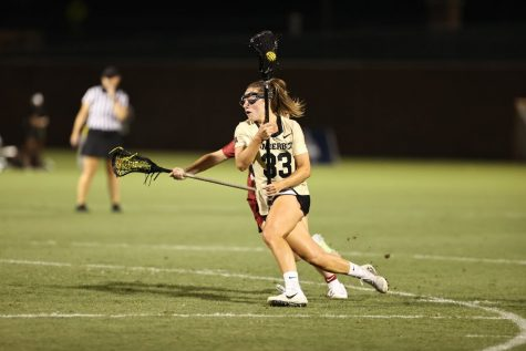 Following the conclusion of the American Athletic Conference Tournament, Vanderbilt will have to wait and see if they qualify for the NCAA Tournament. (Twitter/@VandyLacrosse).