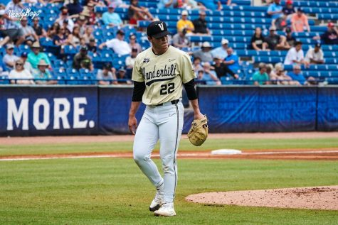 The Commodores were eliminated from the SEC Tournament by Ole Miss on Friday. (Twitter/@VandyBoys).