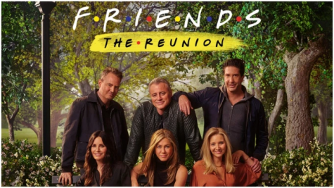 The one with the 'Friends' reunion