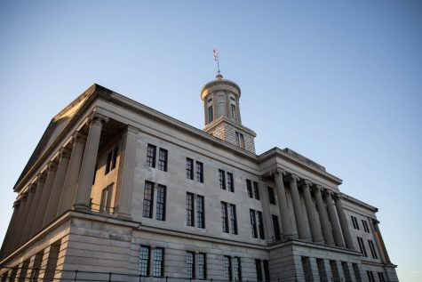 The Tennessee State Capitol, located in Nashville, is home to the the Tennessee General Assembly and the governor's office. (Former Hustler Multimedia/Emily Gonçalves)