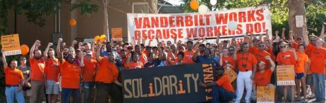 The union during a rally in May of 2012. (Photo courtesy of David Rutledge)