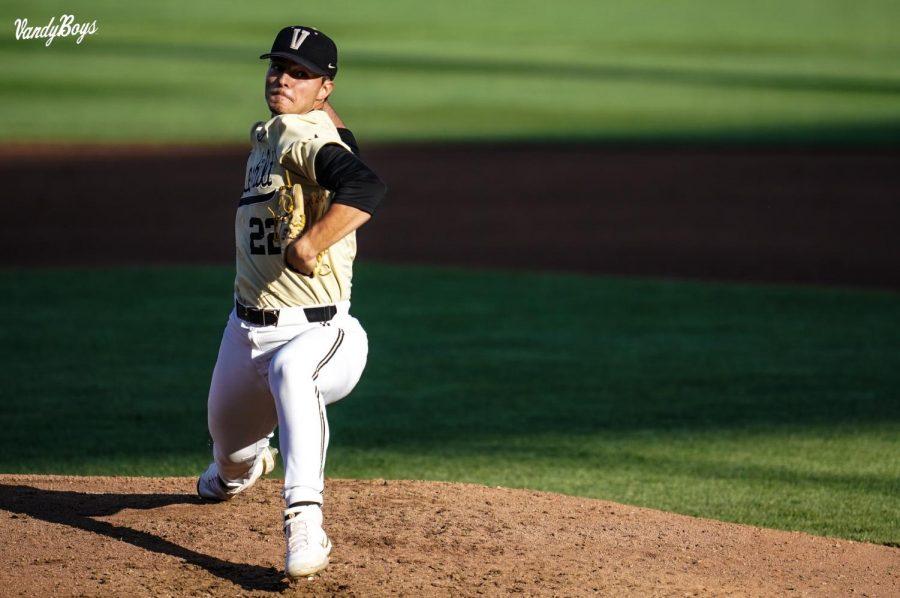 Jack Leiter threw 15 strikeouts in the loss (Vanderbilt Athletics).