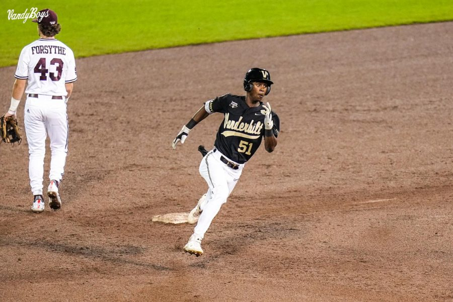 Vanderbilt and Mississippi State will face off one more time on Wednesday for the 2021 College World Series title. (Vanderbilt Athletics).