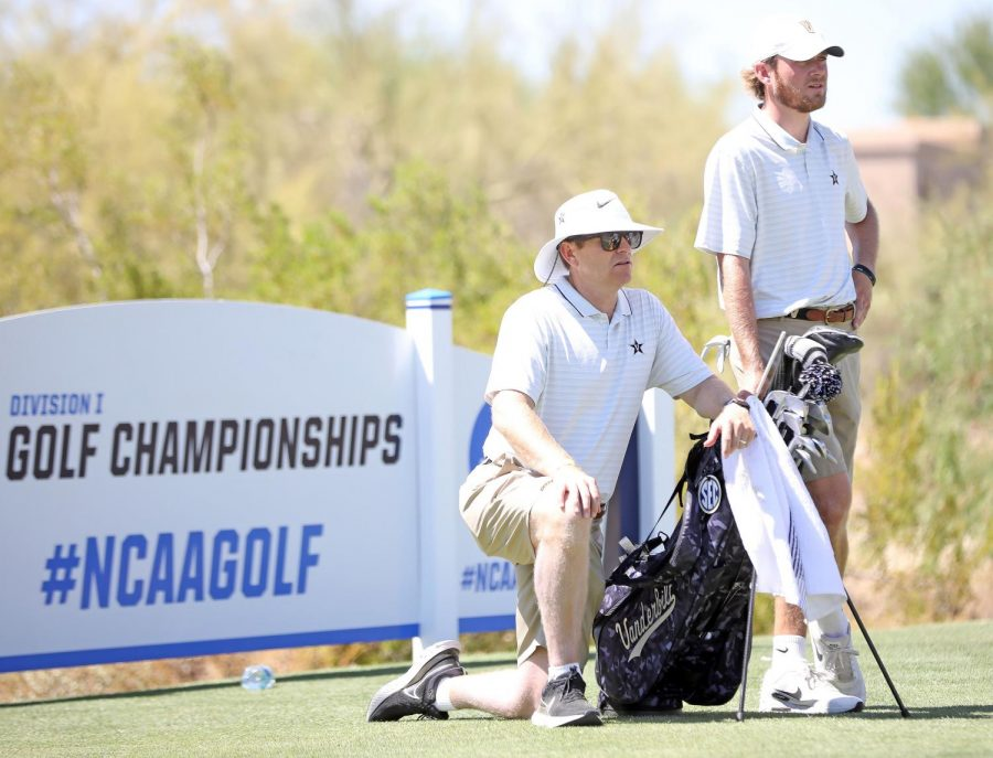 The Commodores' season ended on Tuesday in a 4-1 loss to Oklahoma State. (Twitter/@VandyMGolf).