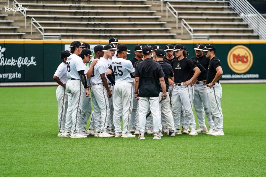Vanderbilt will begin its quest for back-to-back College World Series' on Friday against Presbyterian. (Twitter/@VandyBoys).