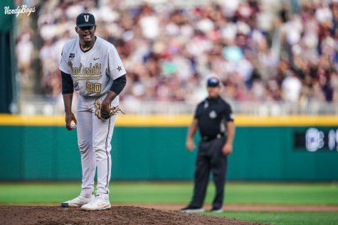 Kumar Rocker joined Jack Leiter as Vanderbilts second draftee in the 2021 class. (Vanderbilt Athletics).