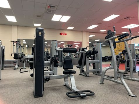 gym equipment in the Rec