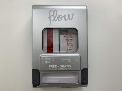 image of period product dispenser