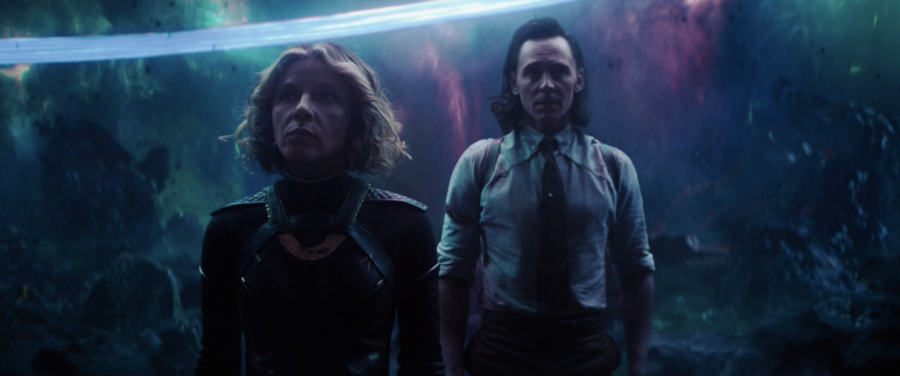 Loki and Sylvie make quite the odd couple—they are, after all, two variants of the same person. (Marvel Studios/Loki)