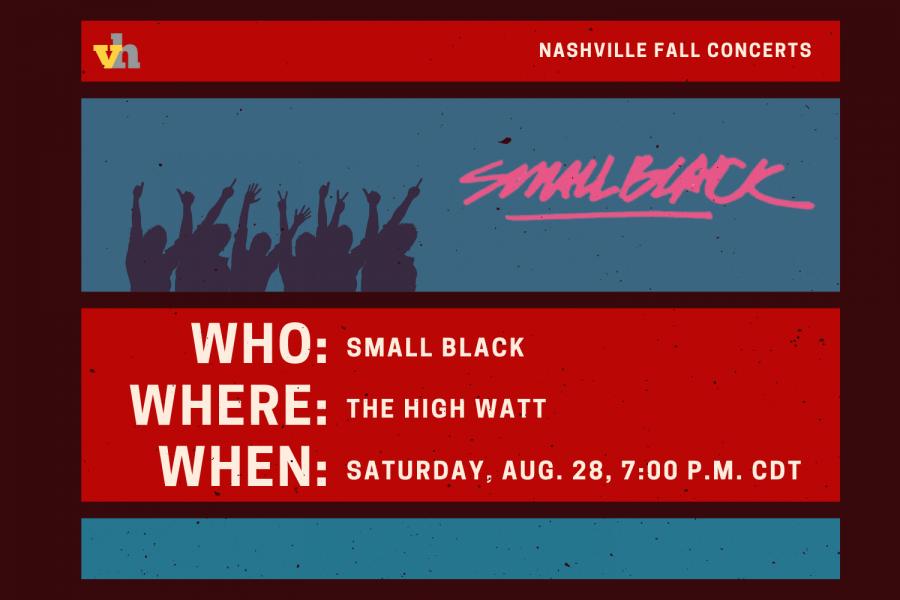 Small Black to play High Watt Aug. 28