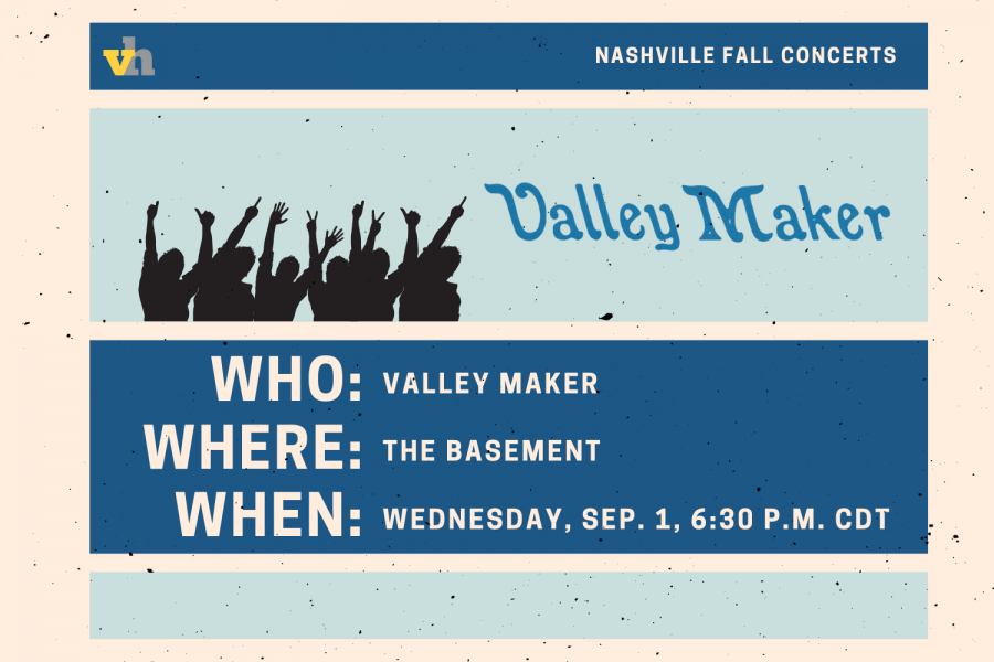 Valley Maker to play the Basement Sept. 1