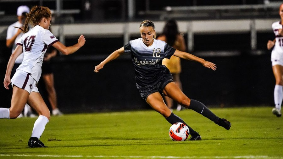 Vanderbilt soccer earned a decisive 5-0 victory over Southern Illinois on Thursday night. (Vanderbilt Athletics).