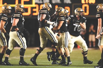 After a week one loss to ETSU, the Commodores head on the road for a battle with Colorado State on Saturday. (Vanderbilt Athletics).