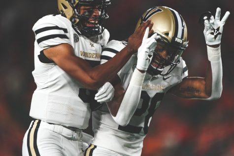 The Vanderbilt Commodores notched their first victory since October, 2019 on Saturday night. (Vanderbilt Athletics).