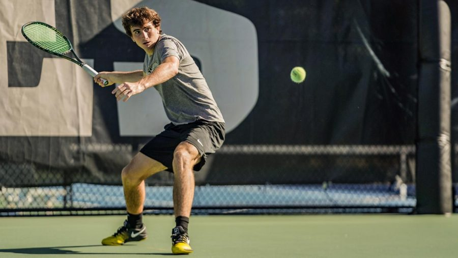 Two Commodores reached the singles quarterfinals at the ITA Regionals this past week. (Vanderbilt Athletics).