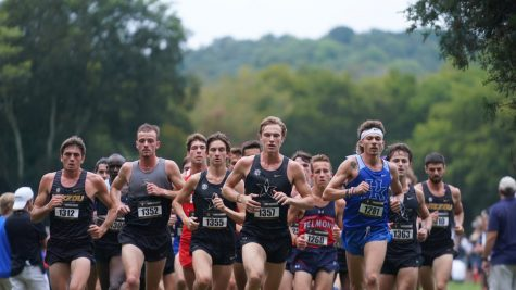 The Vanderbilt cross-country team had a strong showing in their home meet this past week at Percy Warner Park. (Vanderbilt Athletics).