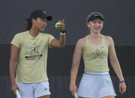 Vanderbilt womens tennis opened its season on at the Furman Fall Classic (Vanderbilt Athletics).