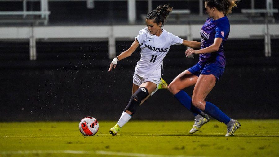 Vanderbilt drew a 0-0 tie in its first SEC game of the season against Florida. (Vanderbilt Athletics).
