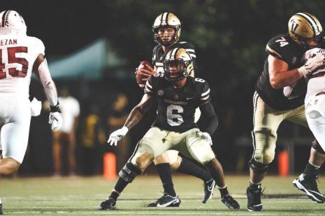 Vanderbilt fell to Stanford 41-23 on Saturday for its second loss of the season. (Vanderbilt Athletics).
