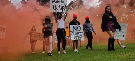 student activists at the protests