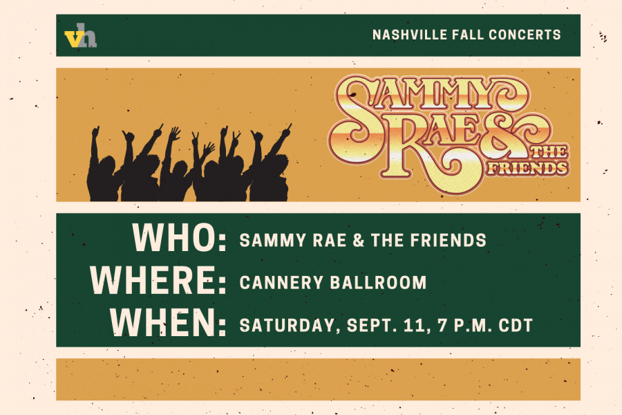 Sammy Rae & The Friends to perform at Cannery Ballroom on Sept. 11