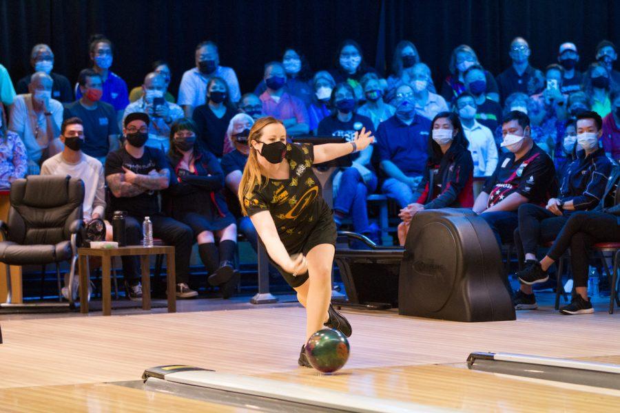 Vanderbilt associate women's bowling coach Josie Barnes claimed a U.S. Open championship on Aug. 31. (Bowlers Journal International).