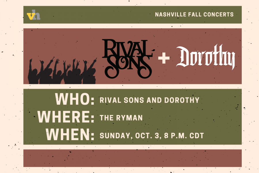 Rival Sons and Dorothy to perform at the Ryman on Oct. 3
