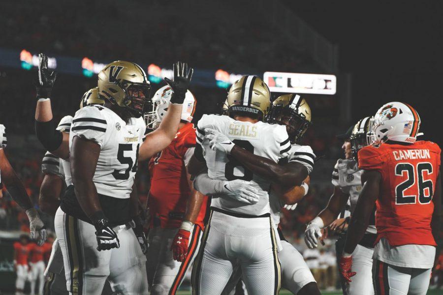 Seals and Vanderbilt got their first win of the season on Saturday (Vanderbilt Athletics).