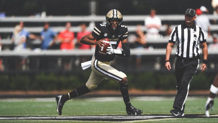 Is it time to see Mike Wright start under center? (Vanderbilt Athletics) .
