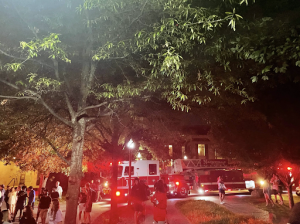 fire trucks outside gillette