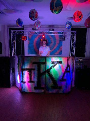 Serota DJs at many of his Pi Kappa Alpha fraternity parties.