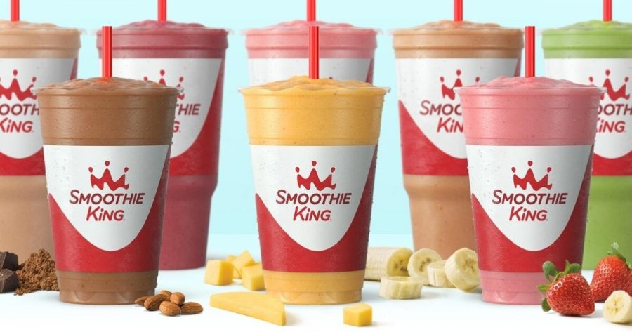 A+lineup+of+Smoothie+King%27s+offerings.+%28Photo+courtesy+of+Smoothie+King%29